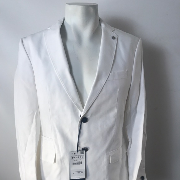 e5710a3f Suits & Blazers | Zara Men Off White Mens Jacket | Poshmark